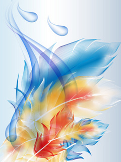 Free Colorful Drops phone wallpaper by carmen