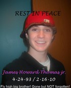 r.i.p james thomas jr.