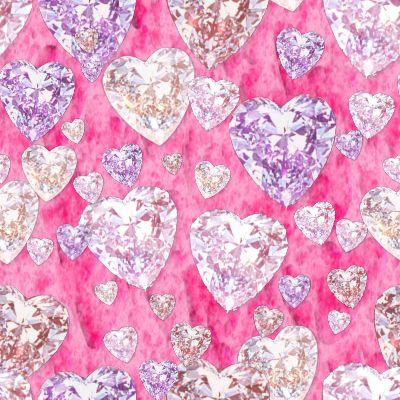Free diamond-hearts-pink.jpg phone wallpaper by brandiwig84