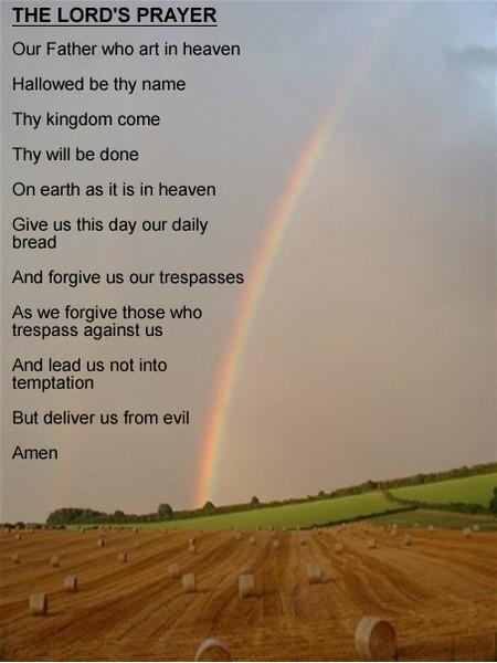 Free Lords Prayer phone wallpaper by uzueta