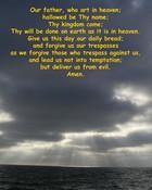 Lords Prayer wallpaper 1