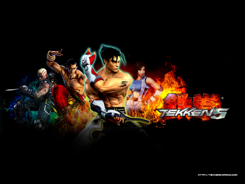 Free Tekken 5 phone wallpaper by destry2008