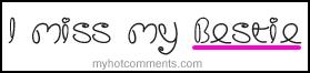 Free Miss my bestie phone wallpaper by yadi17