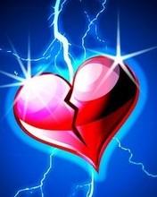 Free Broken Hearted phone wallpaper by babyblueeyes6949