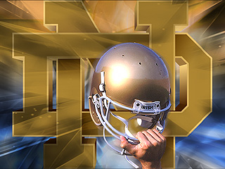 Free Notre Dame Football phone wallpaper by mops801