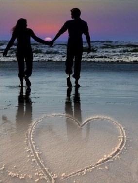 Free beach-sunset-holding-hands.jpg phone wallpaper by nevershoutbrianna10