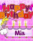 Happy Birthday Mia