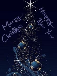 Free Merry Xmas & 2011 phone wallpaper by carmen