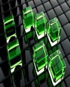Green Cubes.jpg wallpaper 1