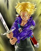 Future Trunks powerup wallpaper 1