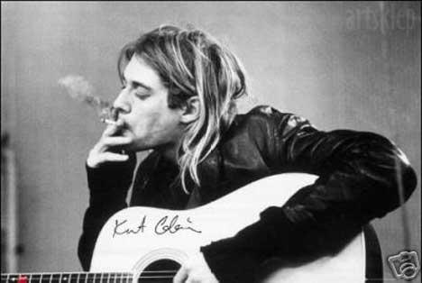 Free kurt-cobain-smokes.jpg phone wallpaper by kayla224