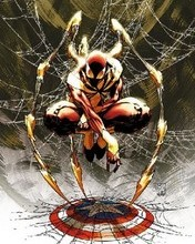 Free Iron Spider.jpg phone wallpaper by mkximus