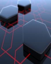 Free Geometric Hexagons.jpg phone wallpaper by contractplumber