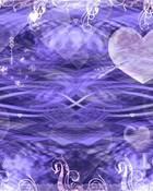 Purple Heart Lake wallpaper 1