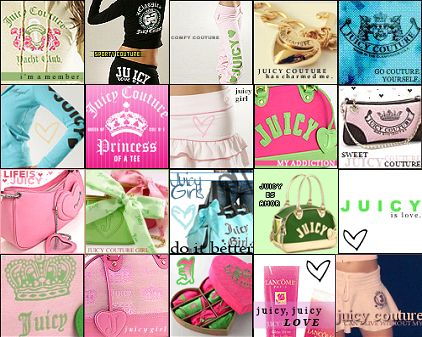 Free juicy couture phone wallpaper by meica101