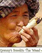 Granny Smoken Fatty
