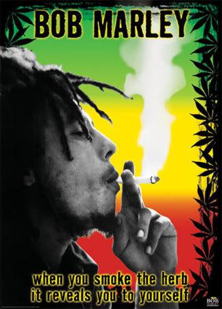 Free Bob-Marley-Smoke-the-Herb phone wallpaper by rockafella