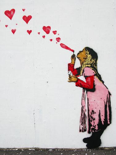 Free blow hearts.jpg phone wallpaper by sujanpak
