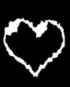 Black and white heart.jpg wallpaper 1
