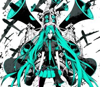 Free Hatsune Miku phone wallpaper by ixgirxi
