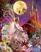 enchanted butterly fairy wallpaper 1