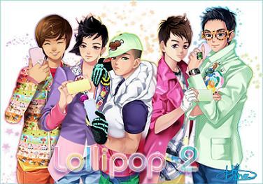 Free lollipop 2 phone wallpaper by bigbangvip