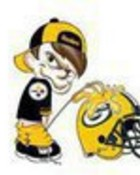 Steelers pissing on Green Bay