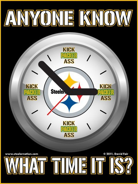 Free What time is it Packer KICK-ASS time! phone wallpaper by KaniHoney282