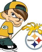Packers pissing on Steelers
