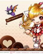 Maplestory Valentine wallpaper 1