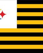 Pittsburgh Steelers 'Steeler Nation' flag