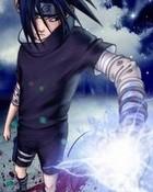 Sasuke Chidori!.jpg wallpaper 1