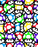 Free Mario_Mushrooms_Pattern_by_lucasavancini.jpg phone wallpaper by jasonhainline420