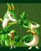 Snivy wallpaper 1