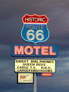 Free route-66-motel-sign.jpg phone wallpaper by gsamx