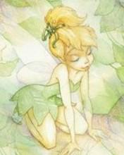 Free Tinker Bell phone wallpaper by rebekah1