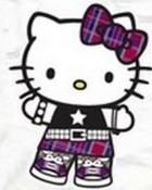 hello kitty punk