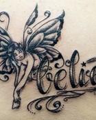 fairy believe tattoo wallpaper 1