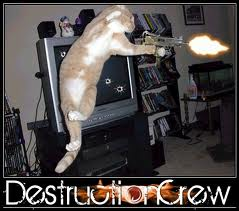 Free gangsta cat phone wallpaper by char_mel