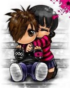 emo love wallpaper 1