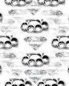 brass knuckles n diamonds