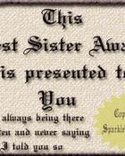 sisterAward
