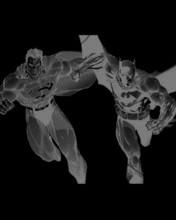 Free Superman Batman Negative.jpg phone wallpaper by mkximus