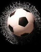 Soccer Cracked Screen wallpaper 1