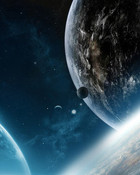 space earth wallpaper 1