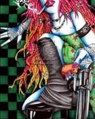 Cybergoth Girl & Gun
