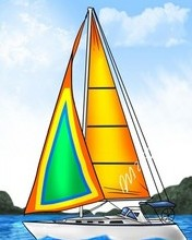 Free how-to-draw-a-sailboat.jpg phone wallpaper by chrisnh