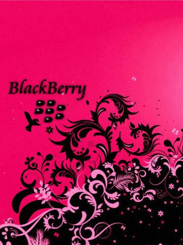 Free Blackberry Blackbird pink phone wallpaper by justineporter