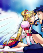 Sailor Moon and Star Fighter wallpaper 1