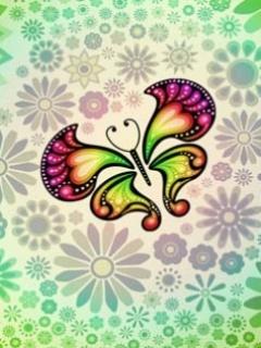 Free Butterfly cute.jpg phone wallpaper by twifranny